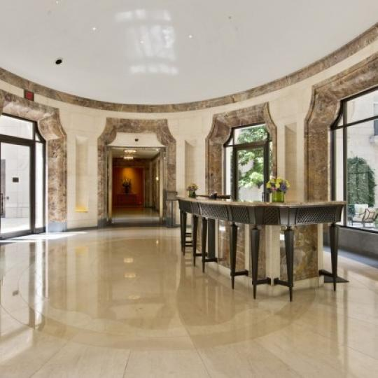 Lobby at 15 Central Park West