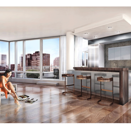 The Renwick- 15 Renwick Sreet - Living room - Manhattan condo for sale