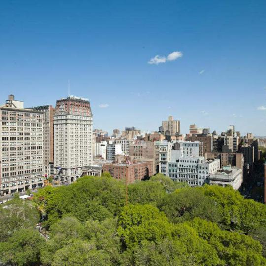 View from 15 Union Square West - Condominiums for Sale in NYC