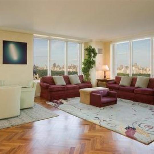 15 West 63rd Street - NYC apartments for sale - living room