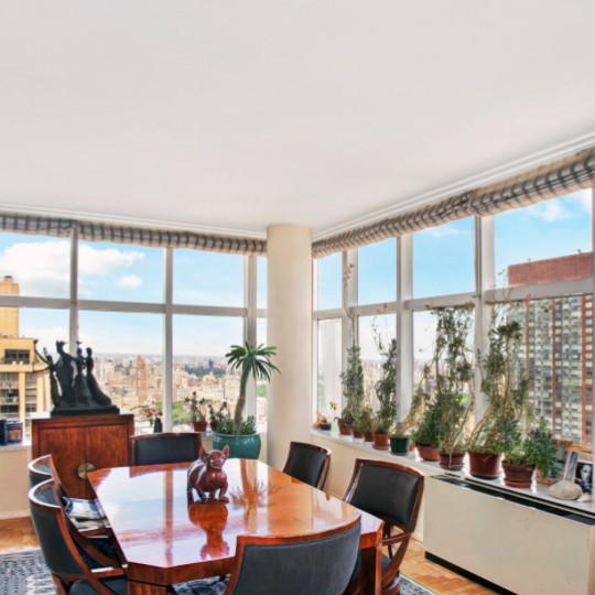 Dining Room at 160 West 66th Street - Condos for sale in NYC
