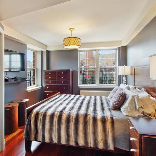 Apartments for sale at Rosa Parks Condominium in NYC - Bedroom