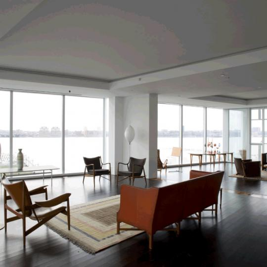 165 Charles Street Condominium Living Room