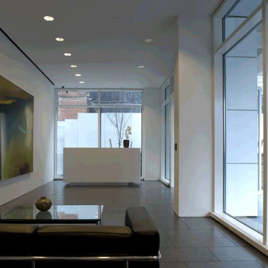 165 Charles Street Lobby - West Village NYC Condominiums