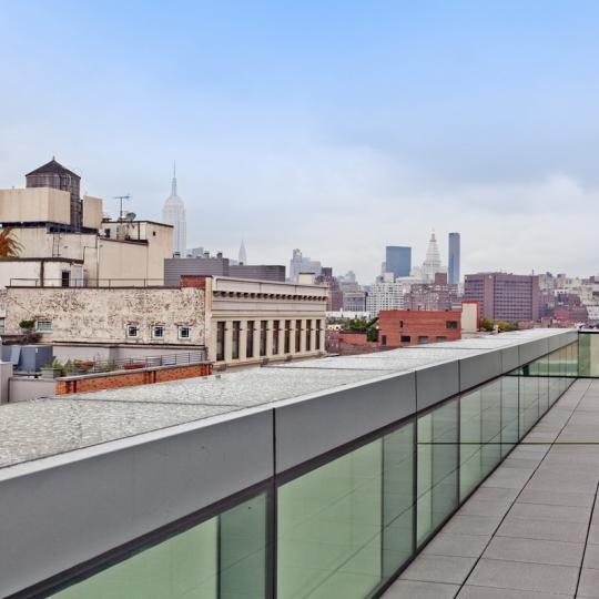166 Perry Street Roof NYC Condos For Sale