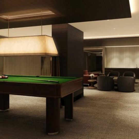 The Billiard room at 172 Madison Avenue