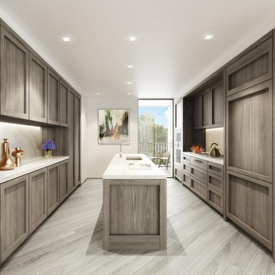 Kitchen at 175 West 10th Street in NYC - Condos for sale