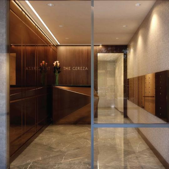 Entrance at The Cereza in NYC - Condos for sale