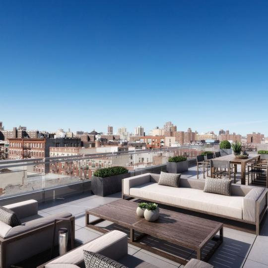 Apartments for sale at 1790 Third Avenue in East Harlem - Rooftop Terrace