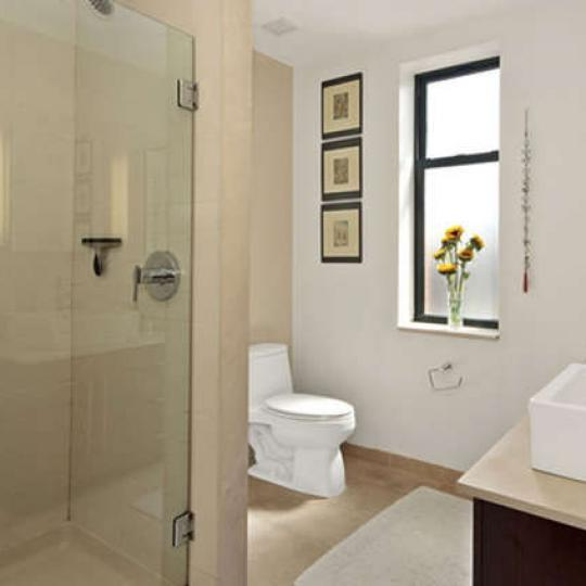 Bathroom at 2002 Fifth Avenue in Manhattan - Apartments for sale