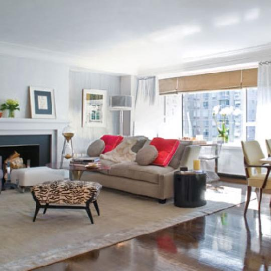 200 East 66th Street Living Room - Manhattan New Condos