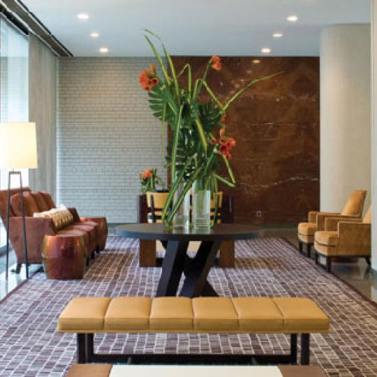 Manhattan House Lobby - Upper East Side NYC Condominiums