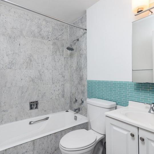 Bathroom at Liberty Court in Manhattan - Apartments for sale