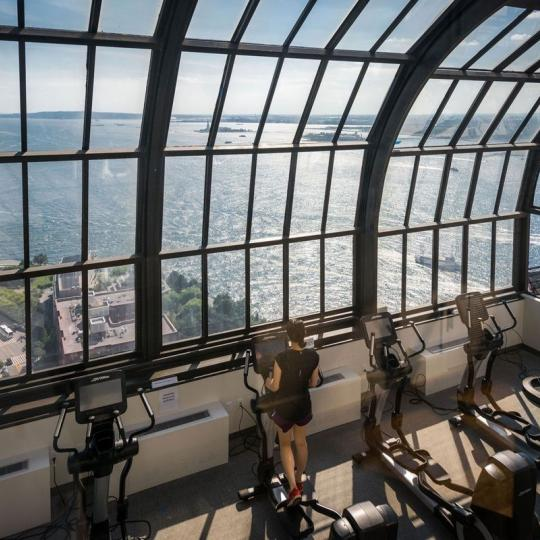 Fitness Center at Liberty Court in Manhattan - Condos for sale