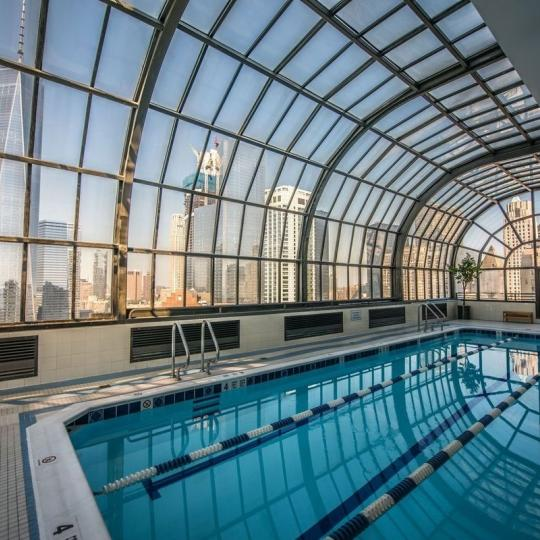 Apartments for sale at 200 Rector Place in NYC - Swimming Pool