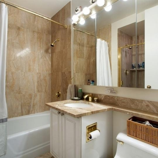 Bathroom at 201 West 72nd Street in Manhattan - Condos for sale