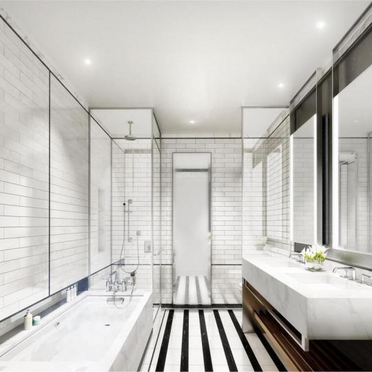 Bathroom at 204 Forsyth Street in NYC - Condos for sale