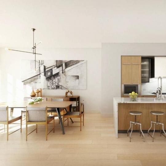 Apartments for sale at 204 Forsyth Street in Manhattan - Open Kitchen