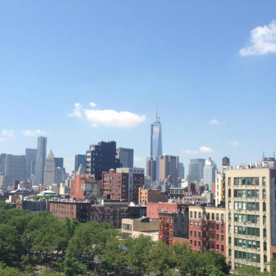 Stunning view from 204 Forsyth Street in Lower East Side