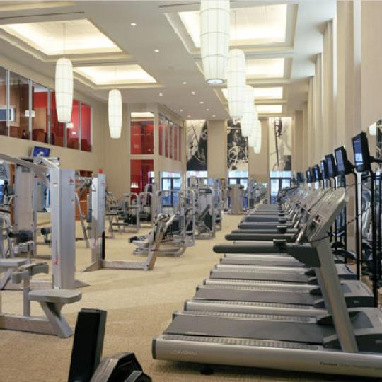 The Downtown Club New Construction Building Gym – NYC Condos