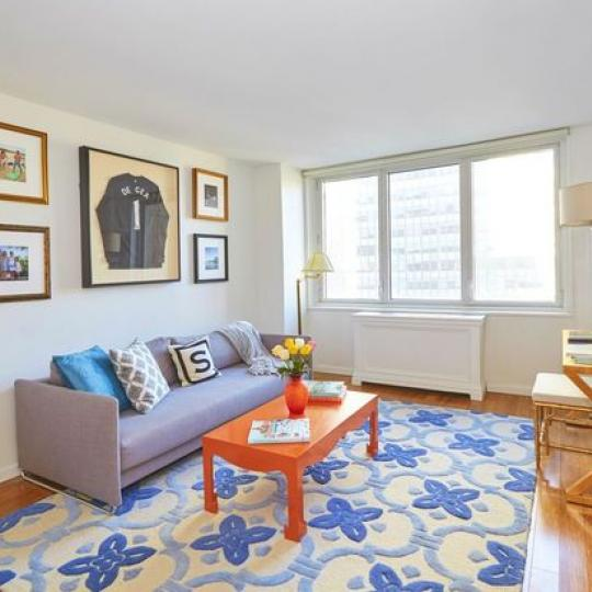 212 East 47th Street Living Room – Manhattan New Condos