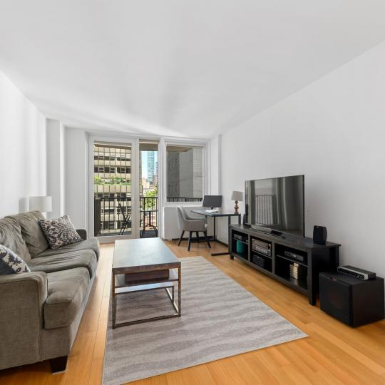 212 East 47th Street Living Room – Condos for Sale