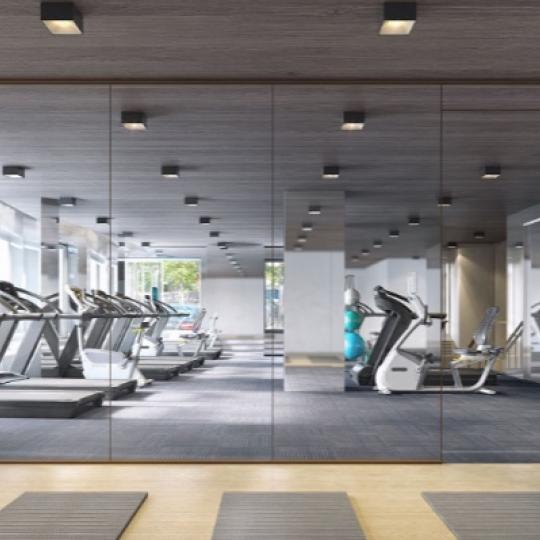 Gym at 212 Warren Street in NYC