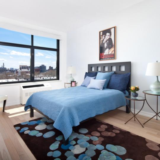 Apartments for sale at The Industry in NYC - Bedroom