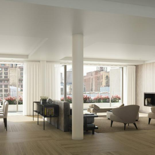 Living Area - 21 West 20th Street - Flatiron District