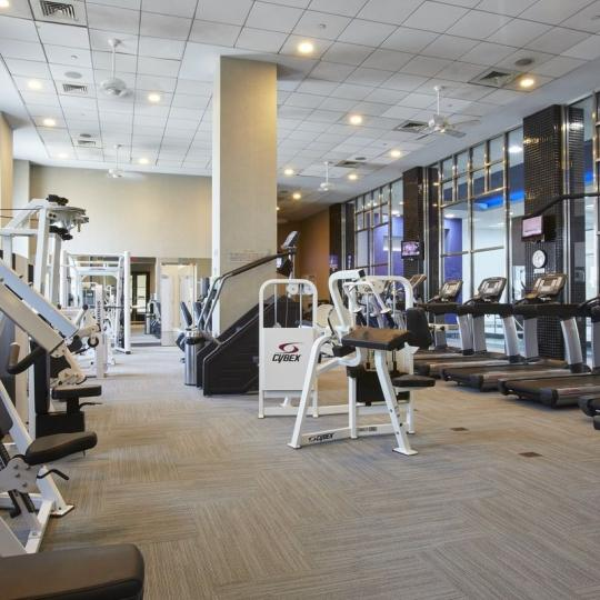 Trump Place Fitness Center - Manhattan Condos for Sale