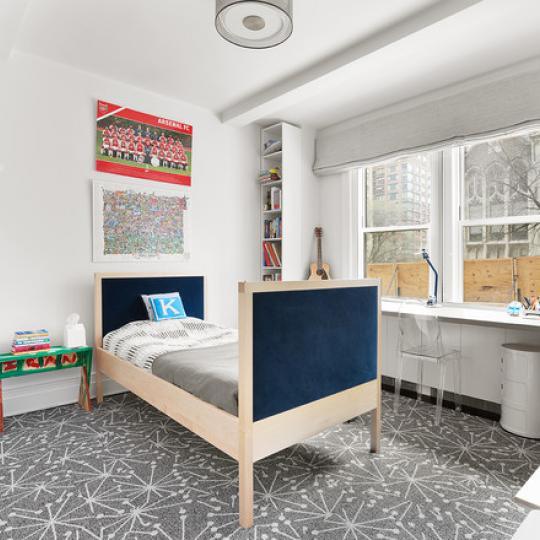 220 West 93rd Street New Construction Condominium Bedroom