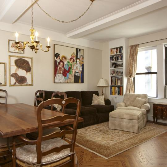 220 West 93rd Street New Construction Building Dining Area – NYC Condos
