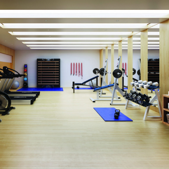 Wide variety of amenities in UWS Manhattan - Fitness