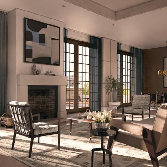 224 Mulberry Street NYC Condos- Living Room