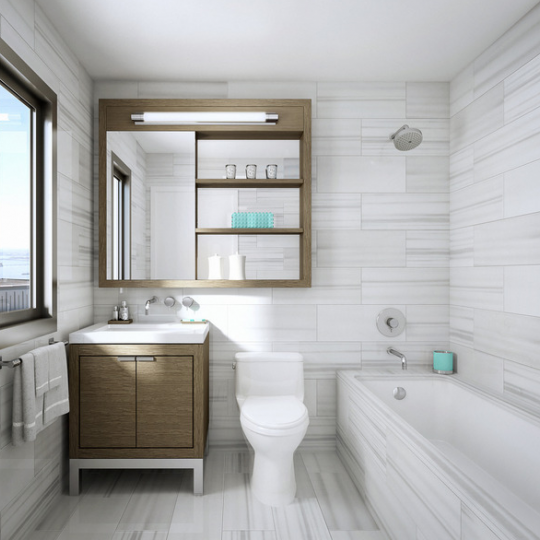 Rector Square Apartments - Bathroom