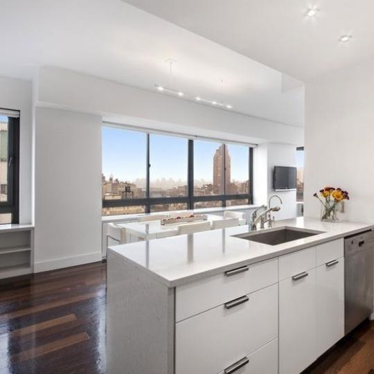 Open Kitchen at The Bromley in NYC - Apartments for sale