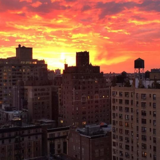 Stunning view from 225 West 83rd Street in Upper West Side