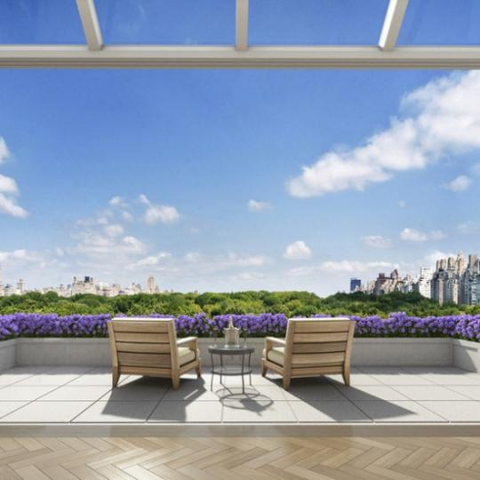 22 Central Park South - Terrace - Apartments for Sale