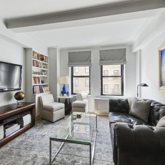 230 Riverside Drive Living Room – Condominiums for Sale NYC