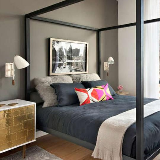 Apartments for sale at The Adeline in South Harlem - Bedroom