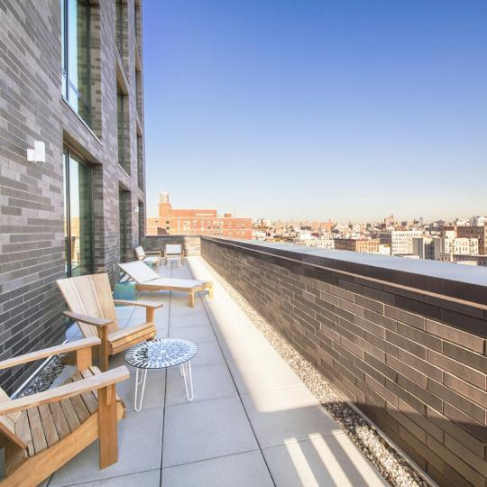 Condos for sale at The Adaline in NYC - Terrace