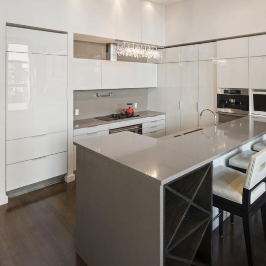 240 Park Avenue South New Construction Condominium Kitchen Area