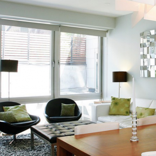 245 West 19th Street- Living Room