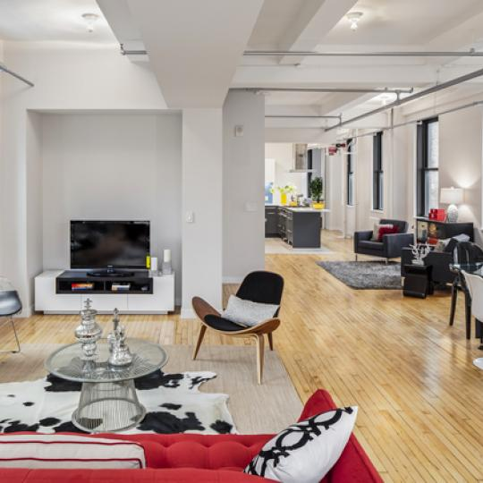 24 West 30th Street Living Room - Flatiron Condominium