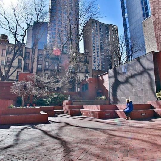 Apartments for sale at The Highpoint in NYC - Courtyard