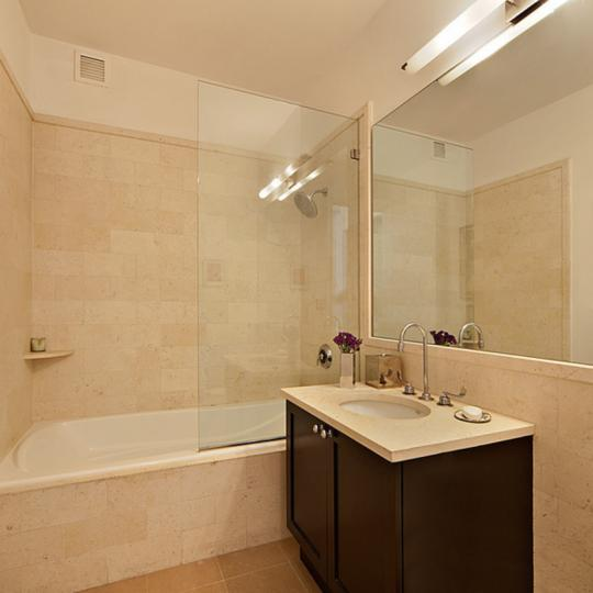 Bathroom - Shower - 252 7th Avenue - NYC Condos - Luxury