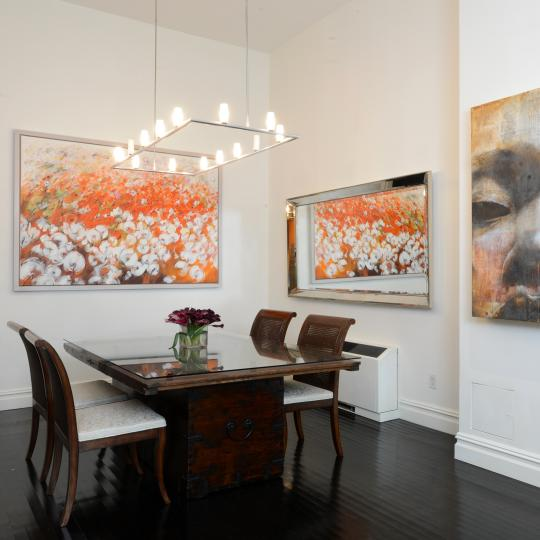 dining room - Manhattan Condominiums - Condos for Sale 252 7th Avenue