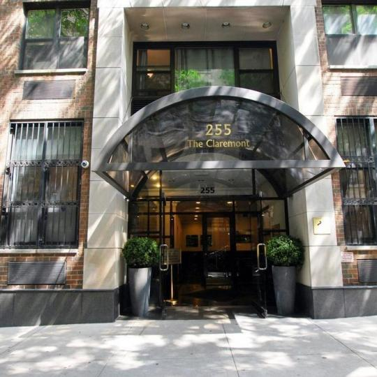 The Building's Entry at 255 West 85th Street in Manhattan