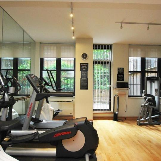 Fitness Center at Claremont Condominium in Upper West Side