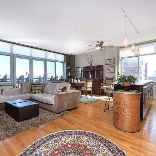 Living Room at 258 Saint Nicholas Avenue in Harlem - Apartments for sale